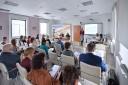 Prowadzący oraz uczestnicy spotkania (autor Collage Przemysław Gąbka)