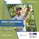 Praca sezonowa z EURES plakat 2