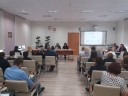 Prowadzący oraz uczestnicy spotkania z dnia 4 października 2017