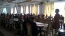 Uczestnicy oraz prowadzący - spotkanie na terenie Białej Podlaskiej organizowane przez Wojewódzki Urząd Pracy w Lublinie Wydział Programowania i Kontroli PO KL i RPO WL