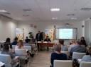 Przedstawiciele Wojewódzkiego Urzędu Pracy w Lublinie oraz uczestnicy spotkania