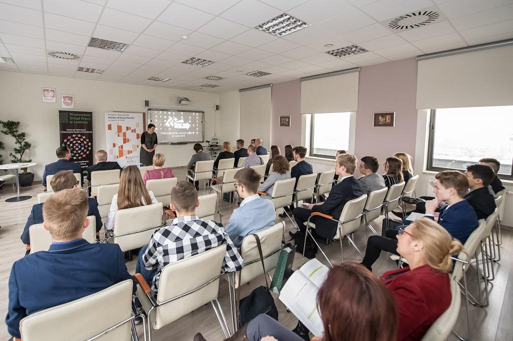 Wystąpienie Pani Małgorzaty Sokół Dyrektor Wojewódzkiego Urzędu Pracy w Lublinie