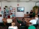 Uczestnicy kursu Spadochron i Prowadząca Renata Kowal
