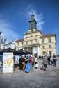 Dzień Europy na Pl. W. Łokietka w Lublinie - Europejskie Stoisko Informacyjne